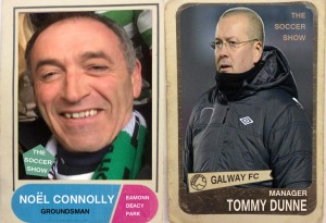 8 9 14 TOMMY DUNNE & NOEL CONNOLLY CARDS