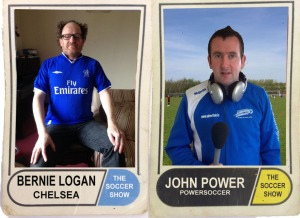 12 1 15 BERNIE LOGAN & JOHN POWER CARD