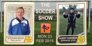 23 2 15 STEPHEN BRADY & ALBERT HARDIMAN CARDS PITCH