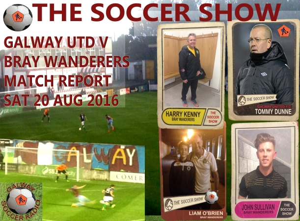 20 8 16 COVER GUFC V BRAY MATCH REPORT