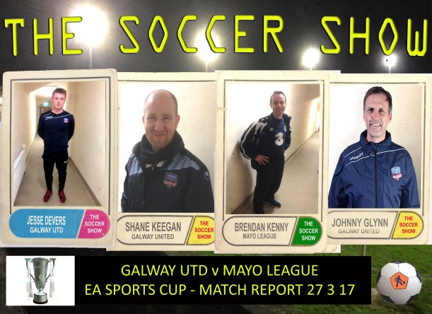 27 3 17 COVER GUFC V MAYO LGE EA CUP REPORT
