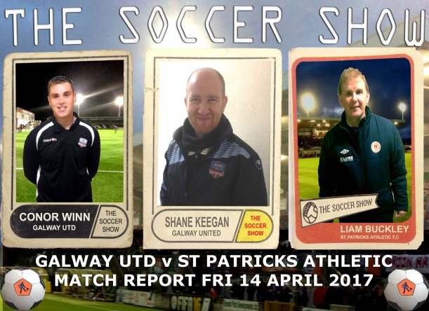 14 4 17 COVER GUFC V ST PATS MATCH REPORT
